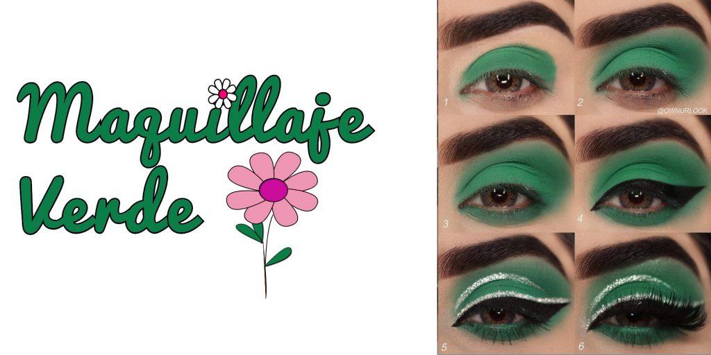 Maquillaje verde ideasdemaquillaje
