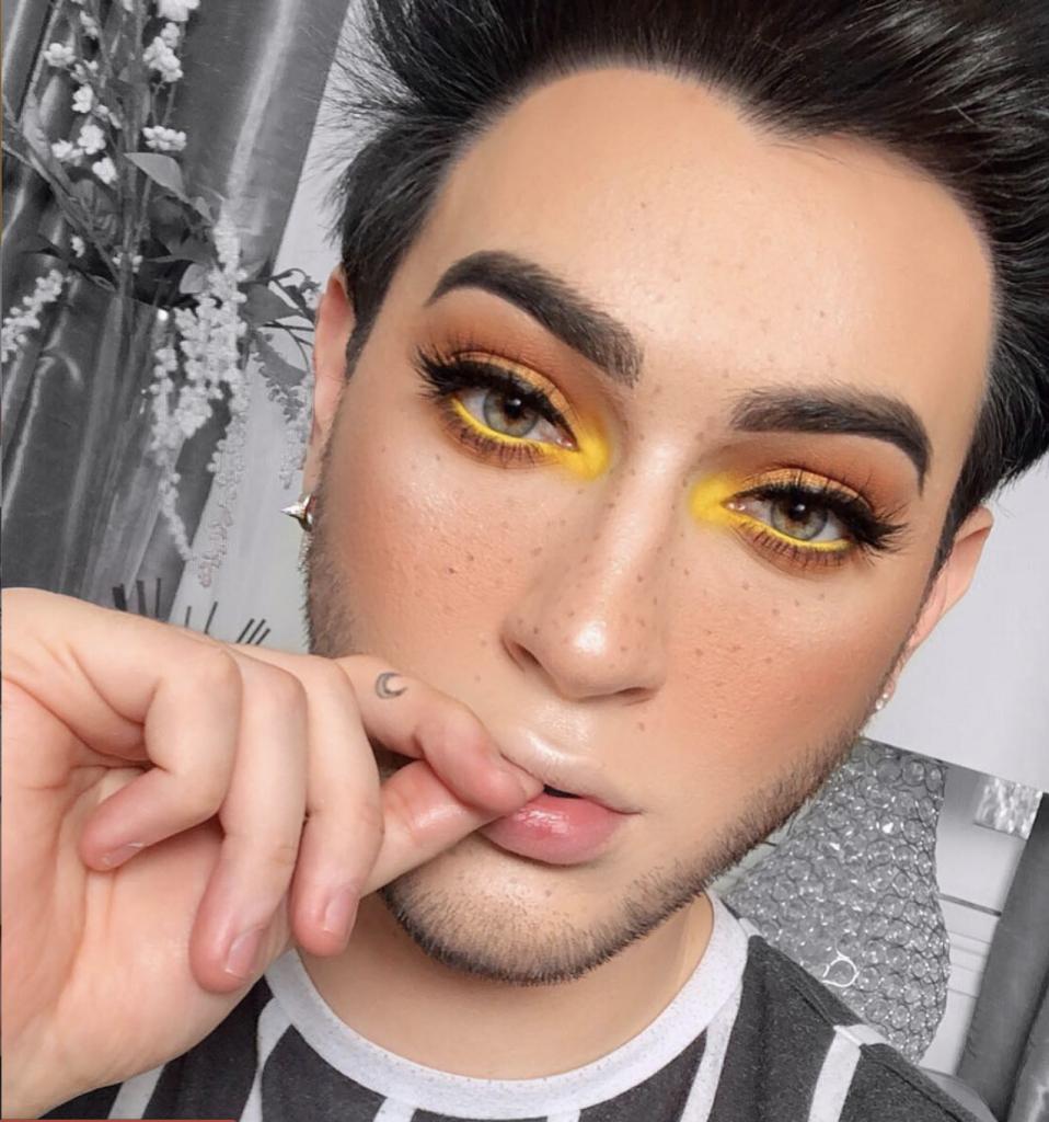 mannymua yellow makeup