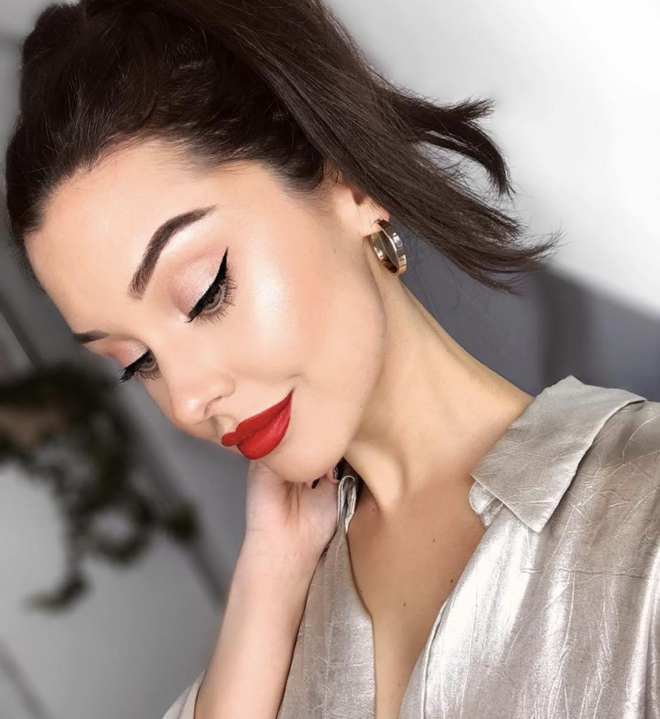 Ofra red lipstick