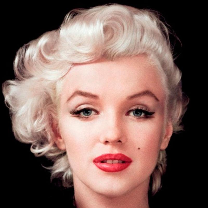 labios rojos Marilyn Monroe